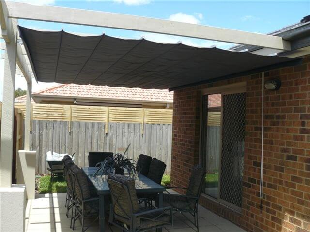 Pleated Patio Shades Mornington Peninsula Patio Shades